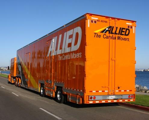 Laramie moving truck